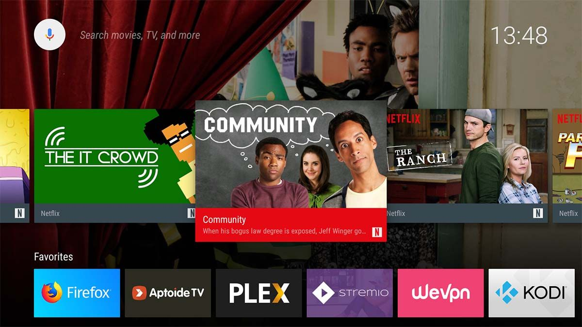 instalar android tv en el fire tv stick
