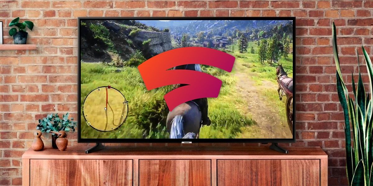 instalar google stadia android tv