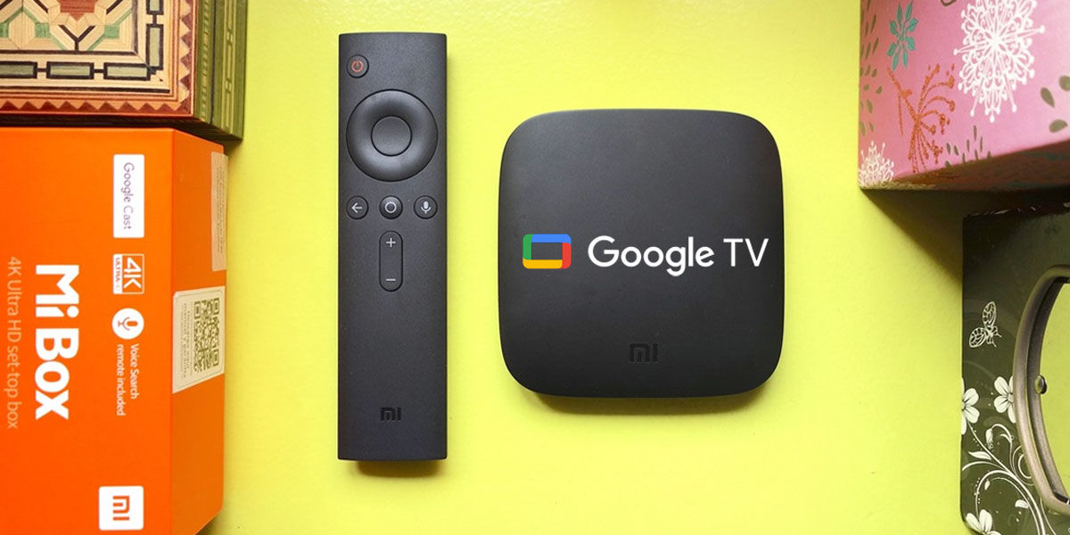 instalar google tv xiaomi mi box