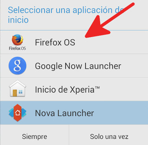 instalar launcher firefox os2
