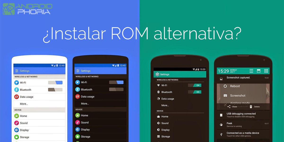 instalar rom alternativa android