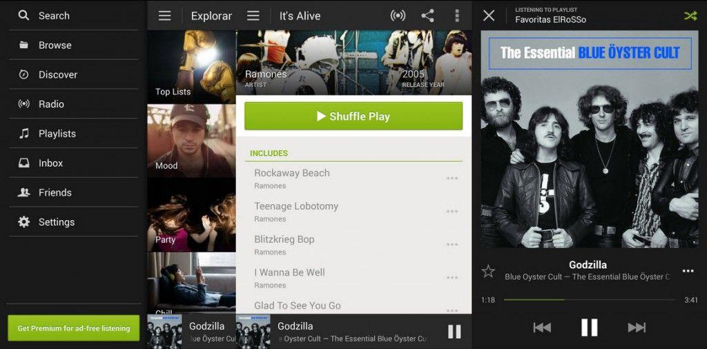 instalar spotify tablet en móvil1