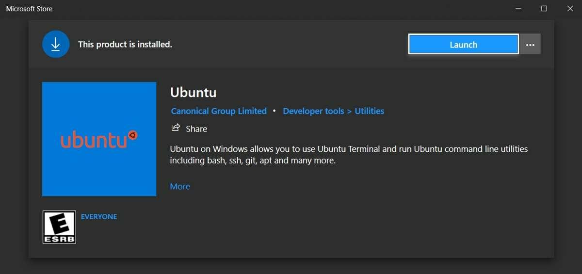 instalar ubuntu desde microsoft store windows