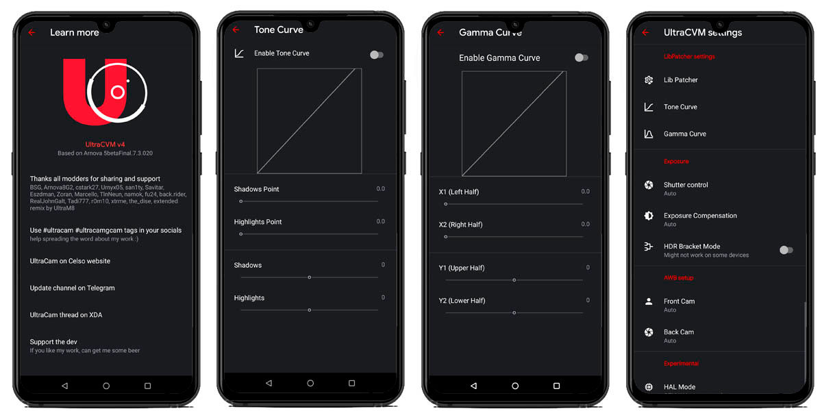 interfaz gcam ultra cvm mod cámara google para cualquier móvil
