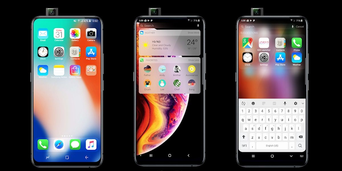 ios 13 launcher para android