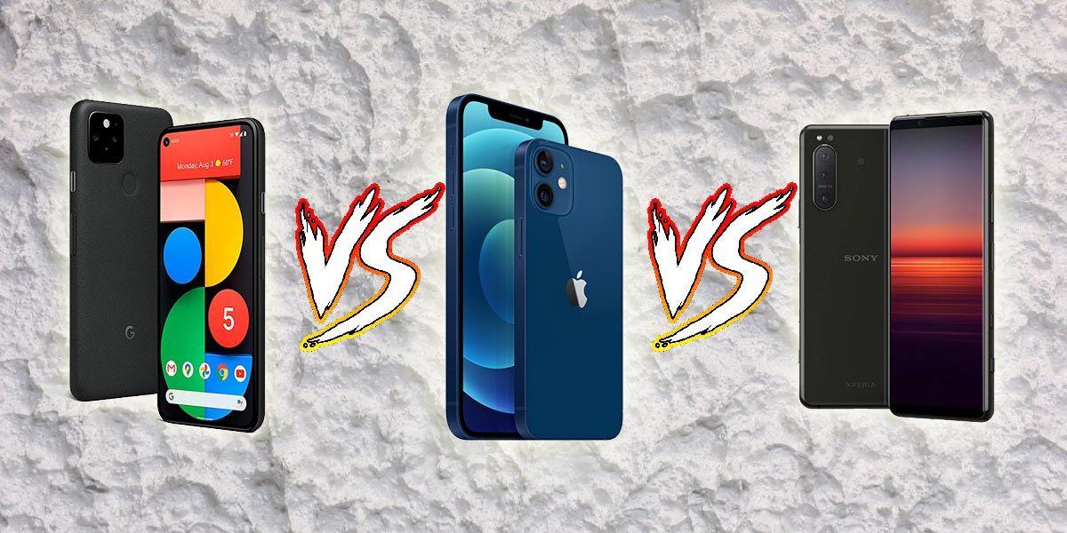 Comparativa iPhone 12 Mini