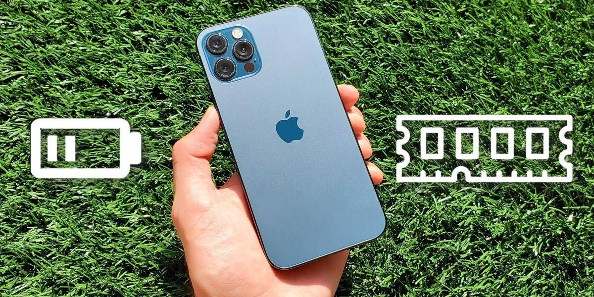 iphone 13 cuanta bateria y ram tiene
