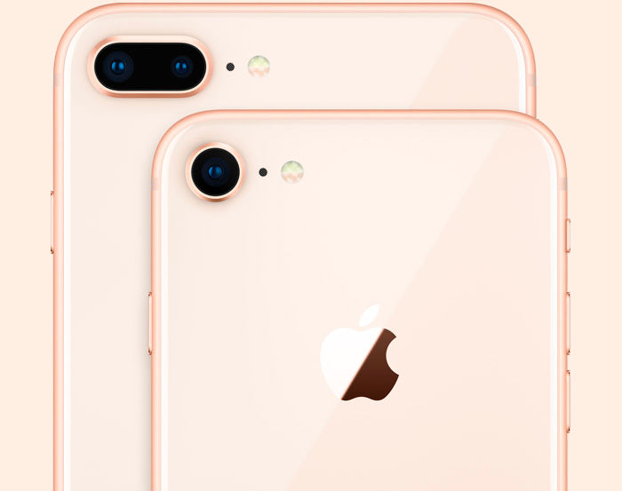 iPhone 8 y iPhone 8 Plus cámaras