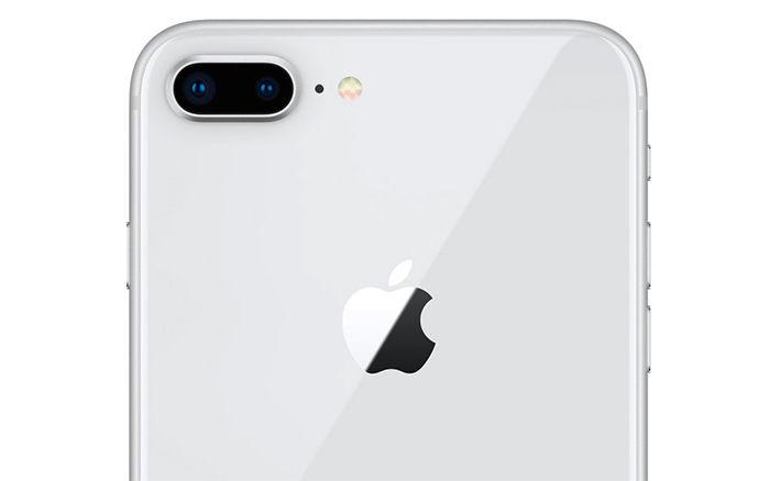 iPhone 8 Plus plata cámara dual