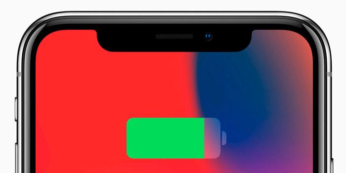 iPhone X batería y memoria RAM