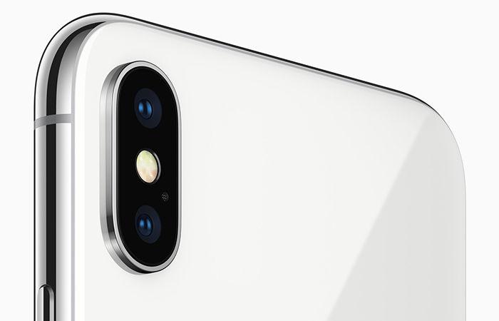iPhone X cámara dual