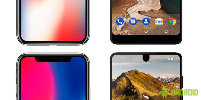 iPhone X vs Essential Phone