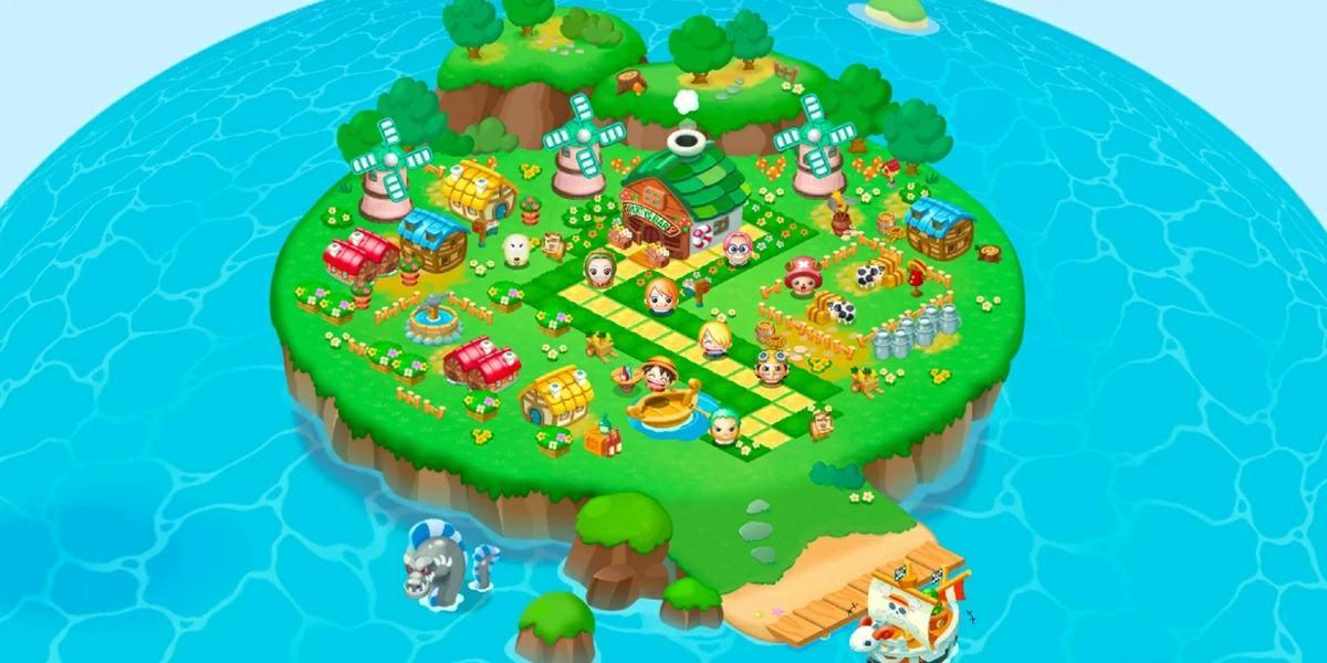 isla del juego one piece puzzle para moviles