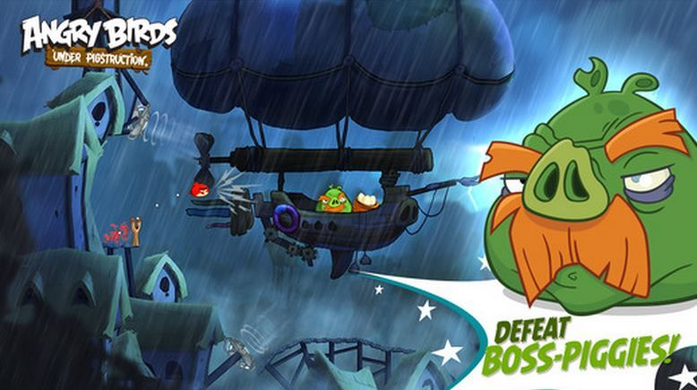 jefes de Angry Birds Underpigstruction