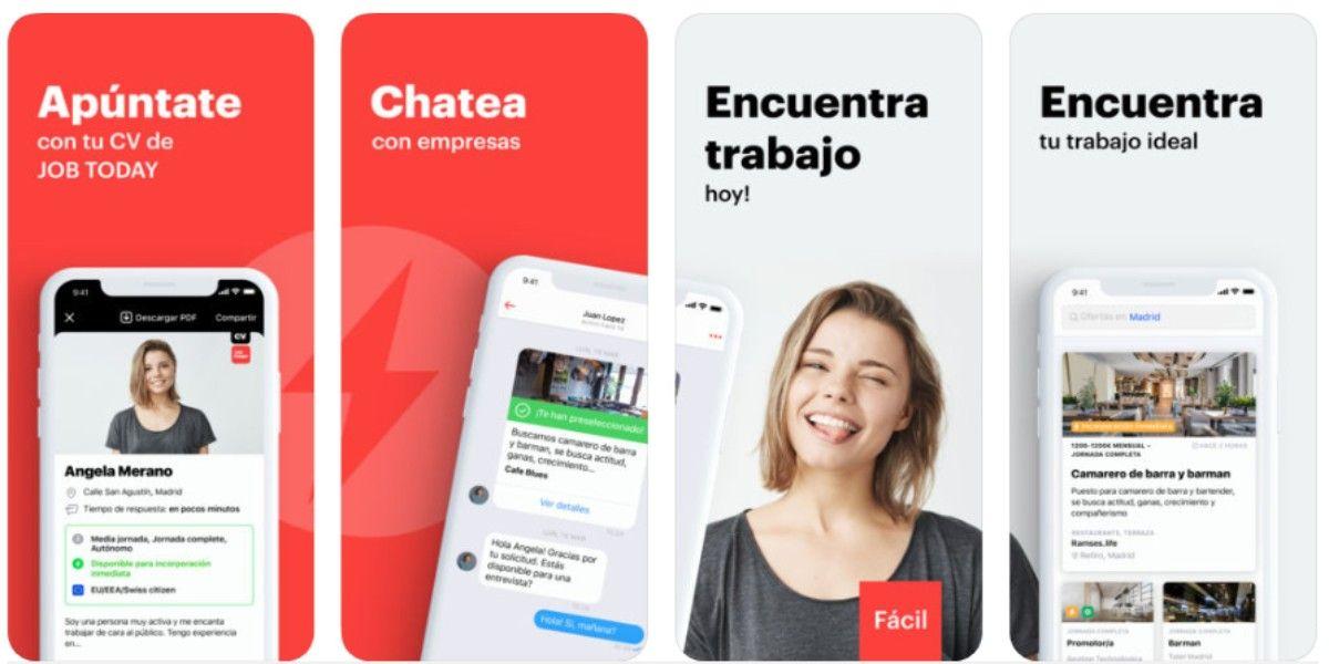 job today 2020 app espana trabajo