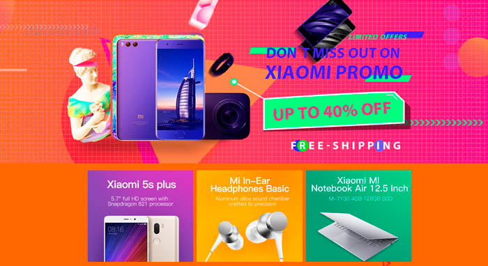 Joybuy promociones Xiaomi