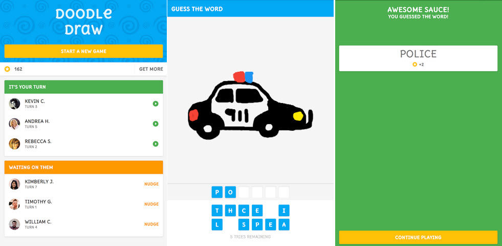 juego facebook messenger doodle draw1