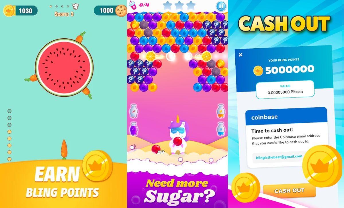 juegos bling android para ganar bitcoin