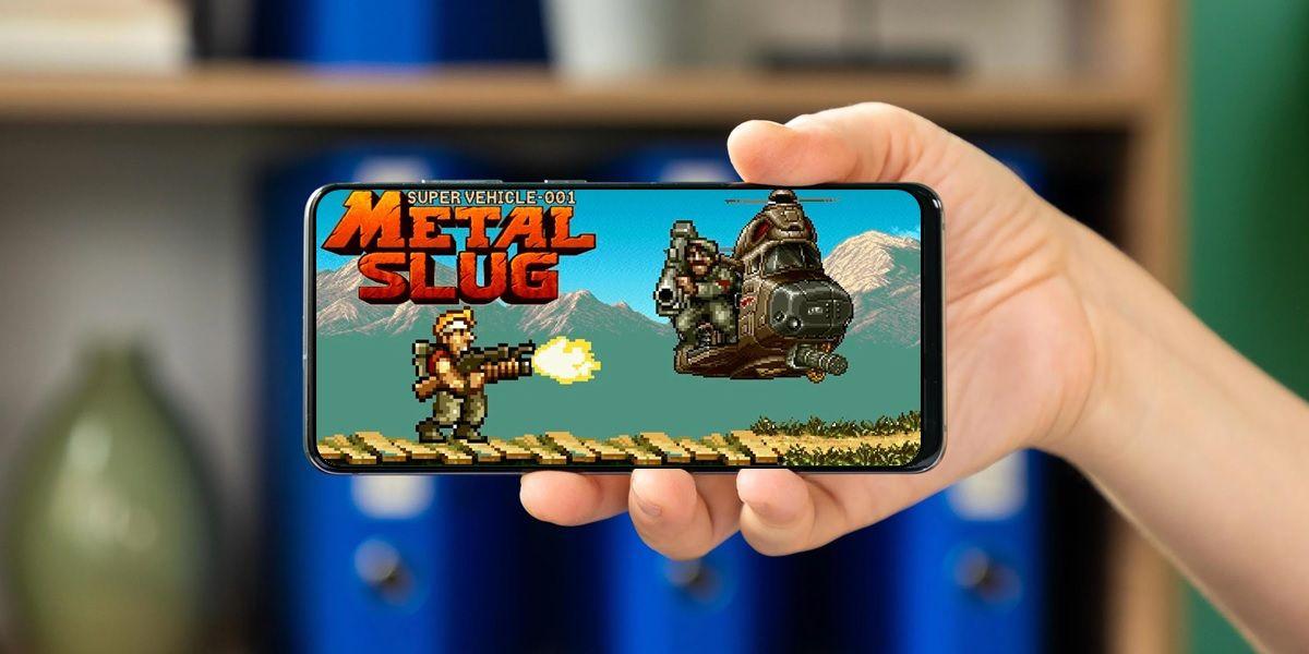 juegos de metal slug para moviles android