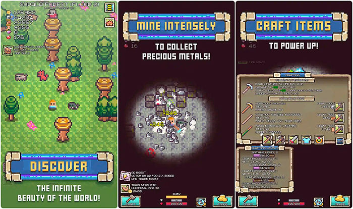 juegos nuevos android Idle Pocket Crafter Mine Rush