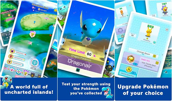 juegos nuevos android pokemon rumble rush