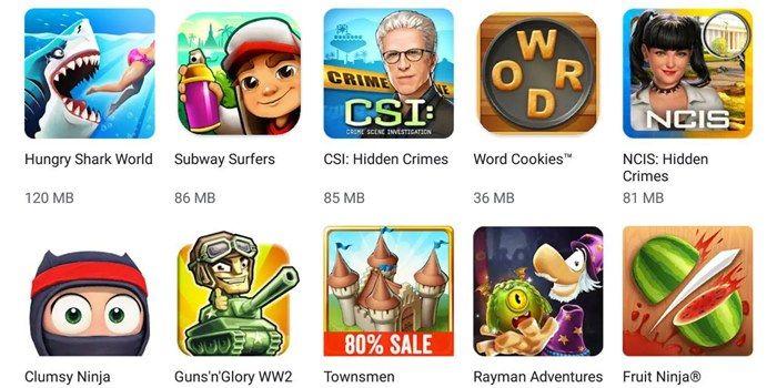 juegos sin cobertura