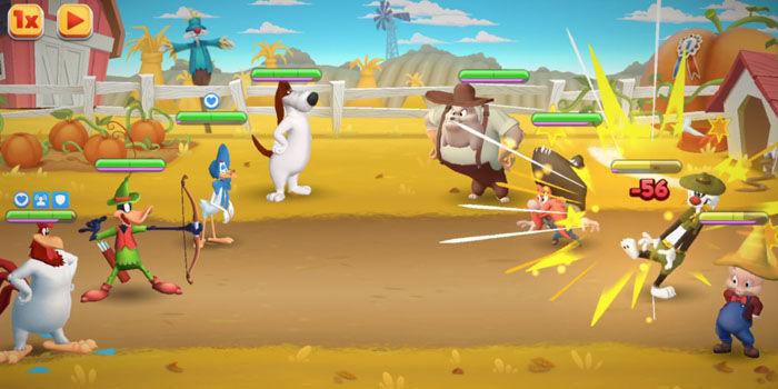 jogabilidade Looney Tunes World of Mayhem
