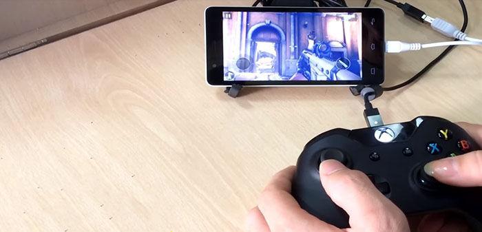 Jugar con el mando Xbox One en Android