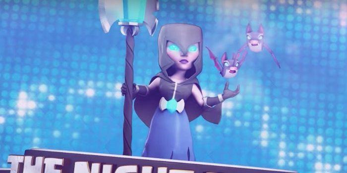 jugar con la Bruja Nocturna en Clash Royale
