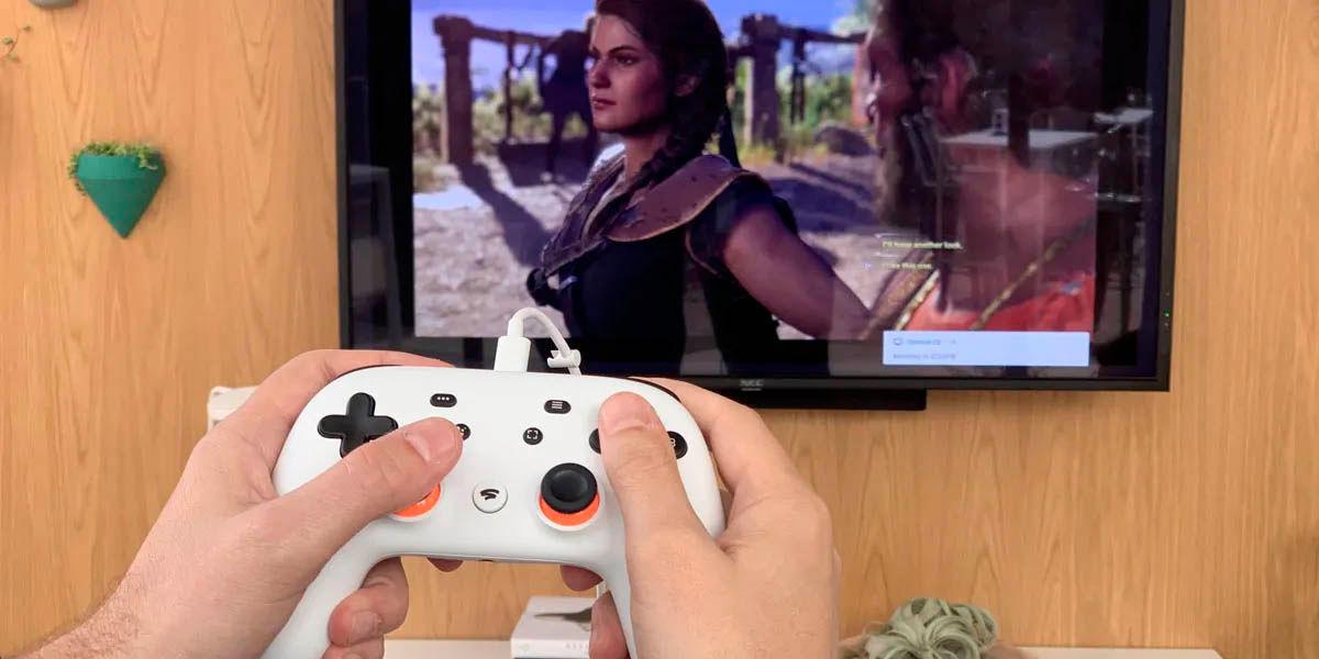 jugar google stadia desde cualquier android tv sin problema