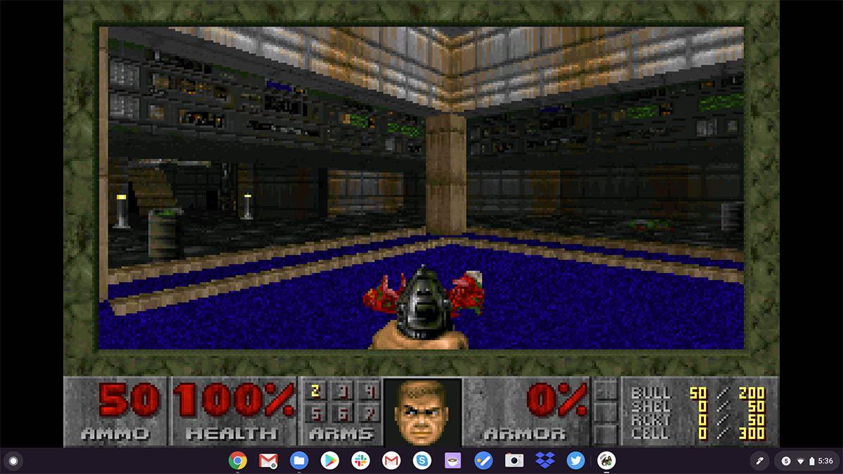 jugar juegos de MS-DOS en tu Chromebook Chrome OS