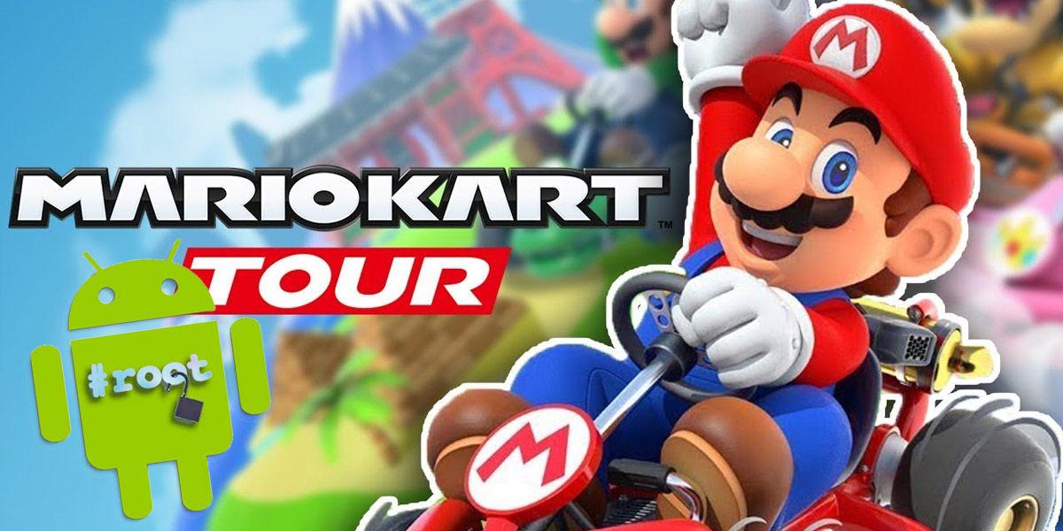 jugar mario kart tour android root