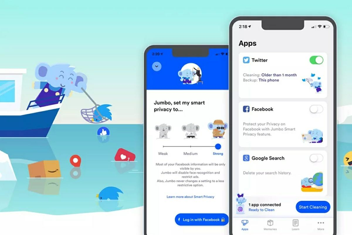 jumbo app para mejorar la privacidad de tu android en redes sociales
