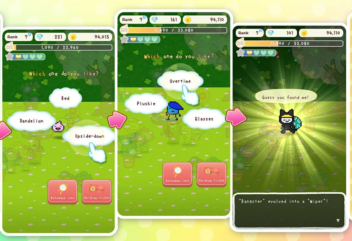 kotodama diary juego android ios