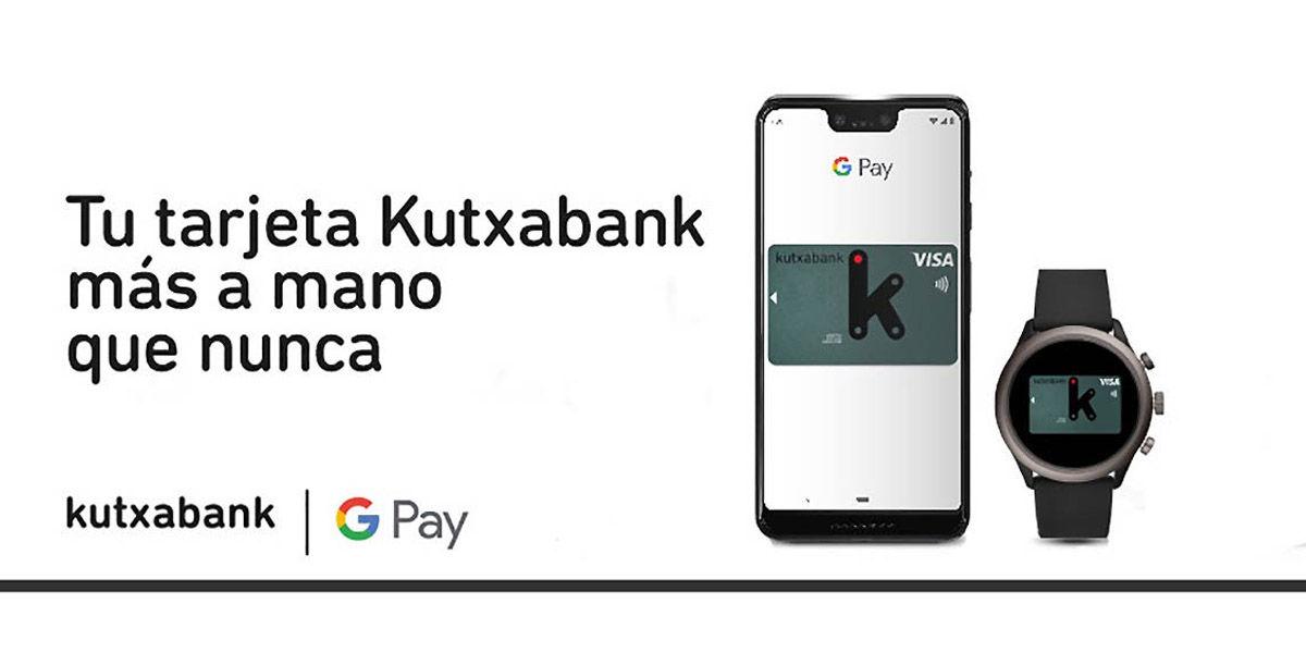 kutxabank google pay
