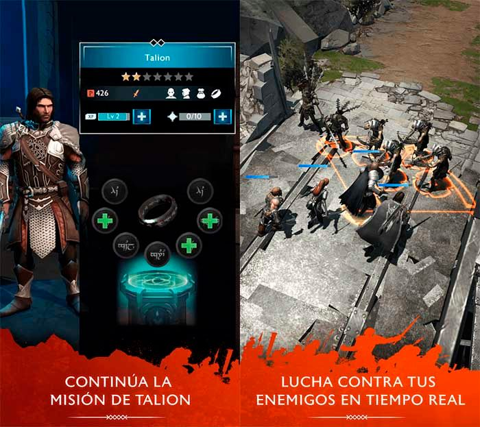 La Tierra Media: Sombras de Guerra capturas Google Play 1