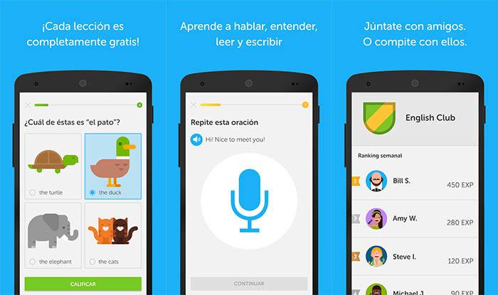 las mejores aplicaciones para aprender ingles