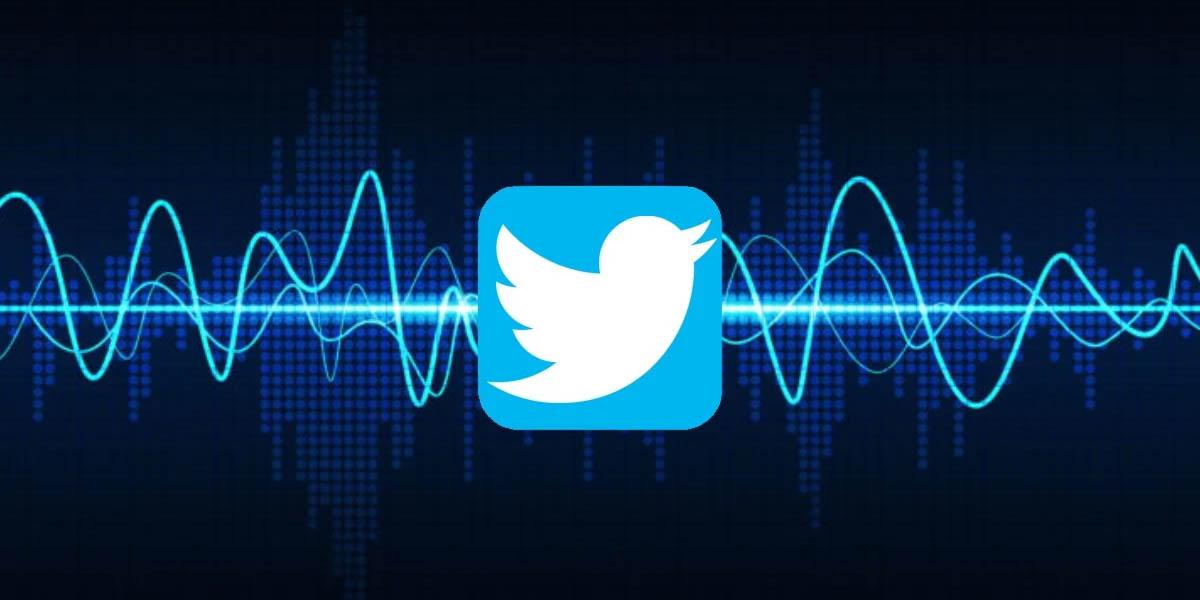 las notas de voz de twitter disponibles en ios
