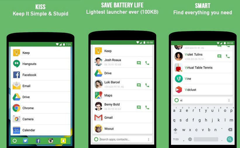 launcher android ligero1