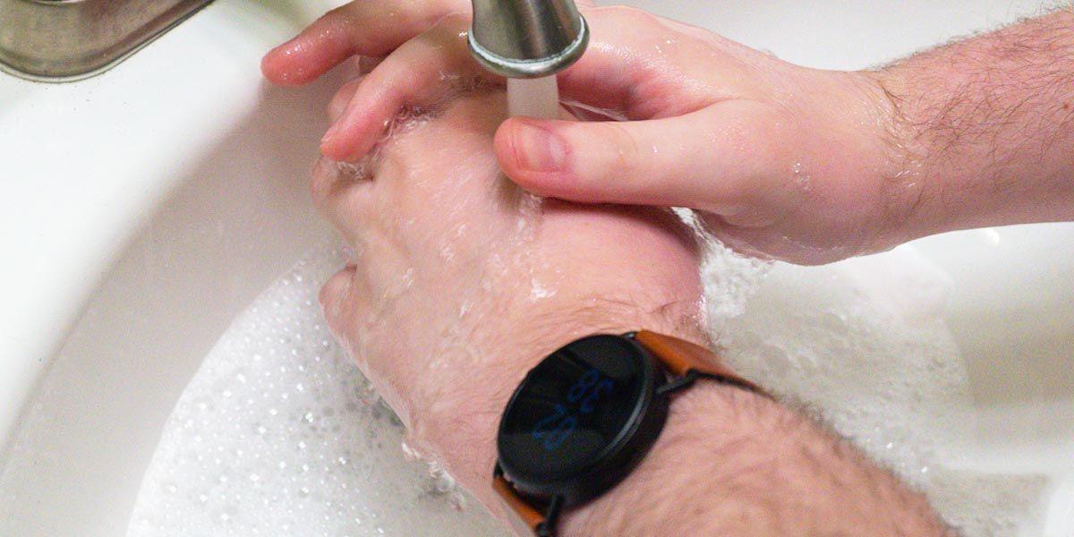 lavar manos wear os