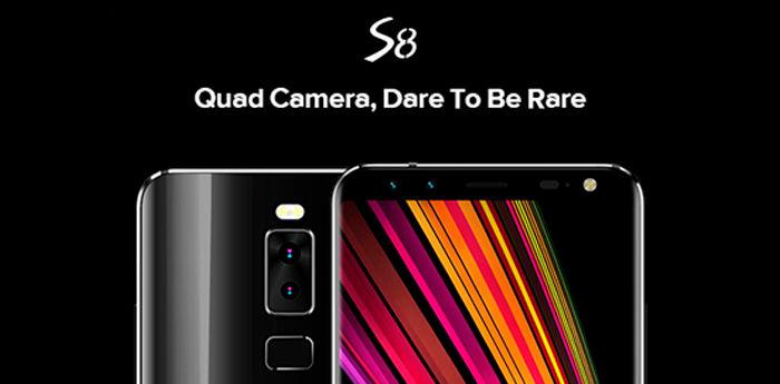 Leagoo S8 cámaras duales
