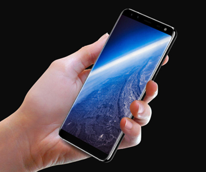 Leagoo S8 pantalla infinita ratio