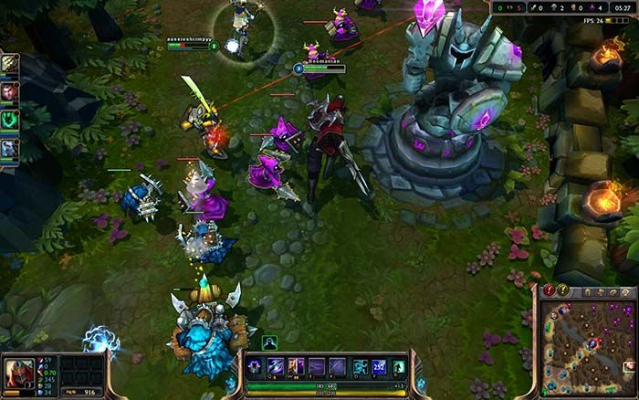 LOL League of Legends gameplay