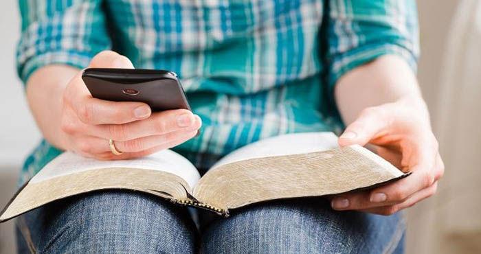 leer en el telefono