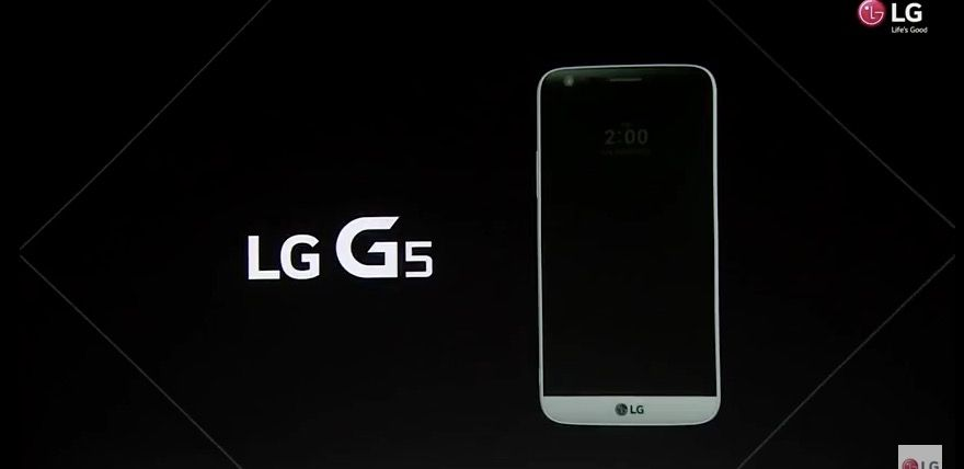 lg g5 apariencia