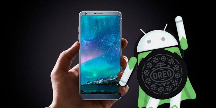 LG G6 actualización android oreo