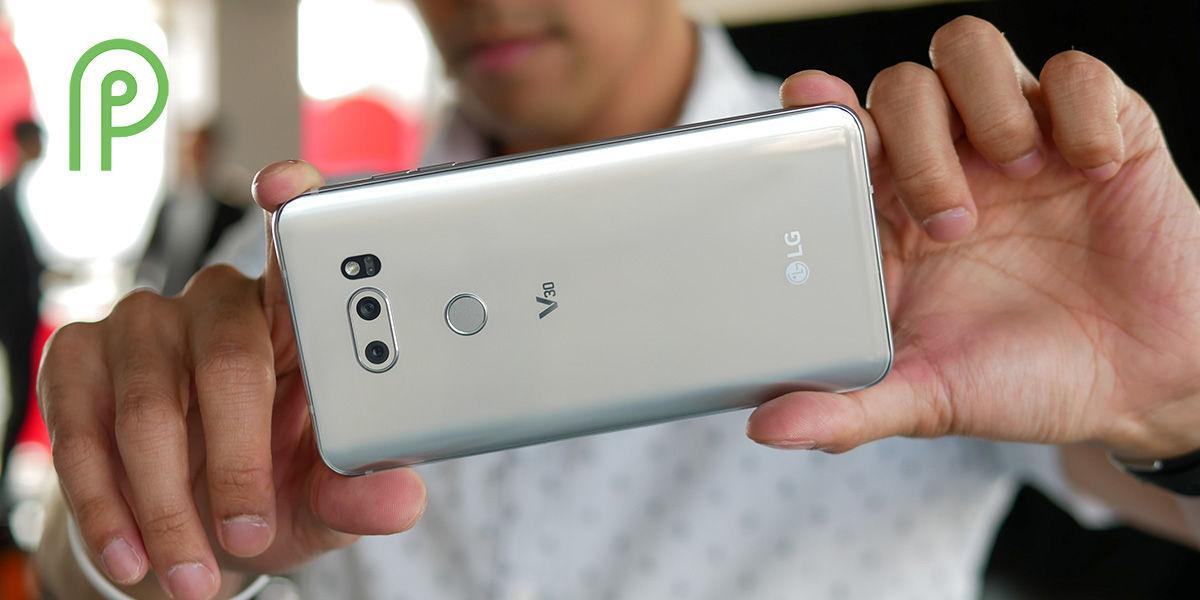 lg v30 thinq android pie