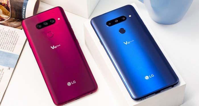 LG V40 ThinQ especificaciones