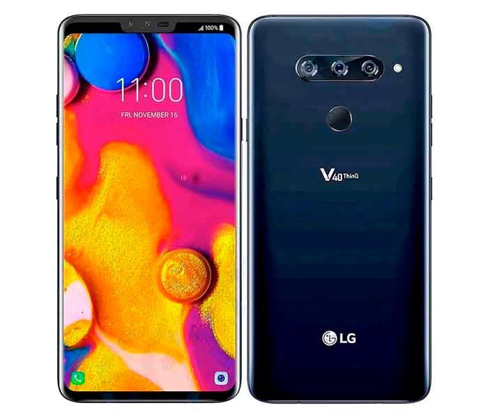 LG V40 ThinQ pantalla