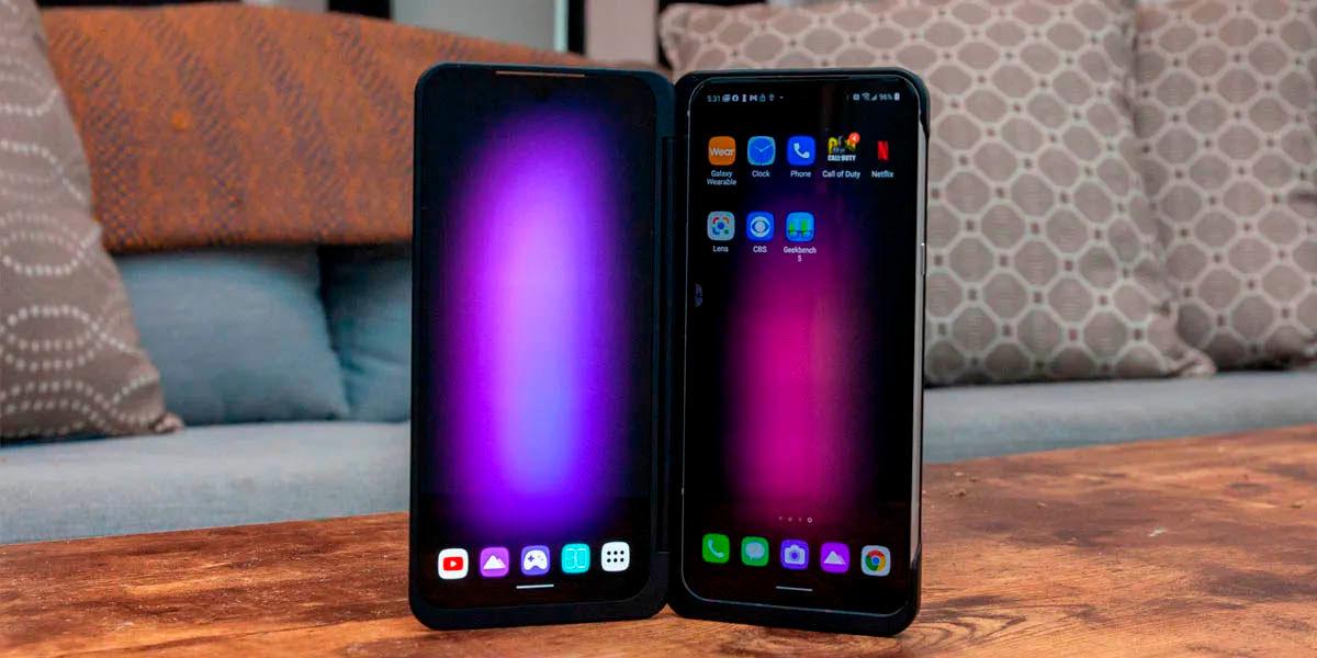 lg v60 thingq 5g pantalla dual